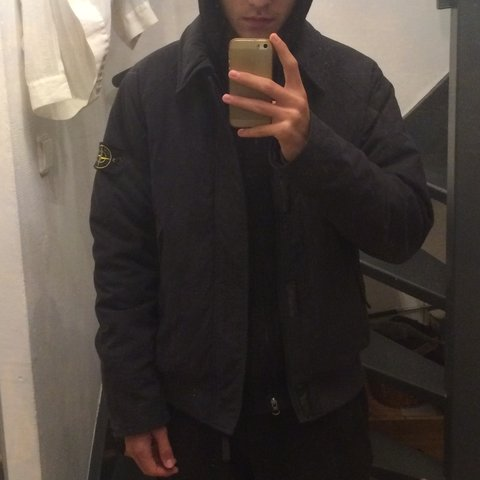 400f678bea ... Stone Island Reps Nylon Quilted Bomber Jacket - 30th Winter size 40  d0581 af00e ...