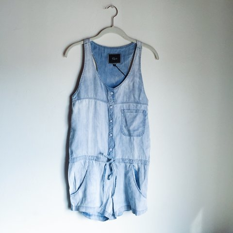2c9f0491c0d Rails Romper in Lily Marble Wash  perfect condition with - Depop
