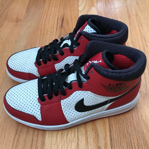 8c20c839fa6b22 Nike Air Jordan 1 s with perforated holes. They were well by - Depop