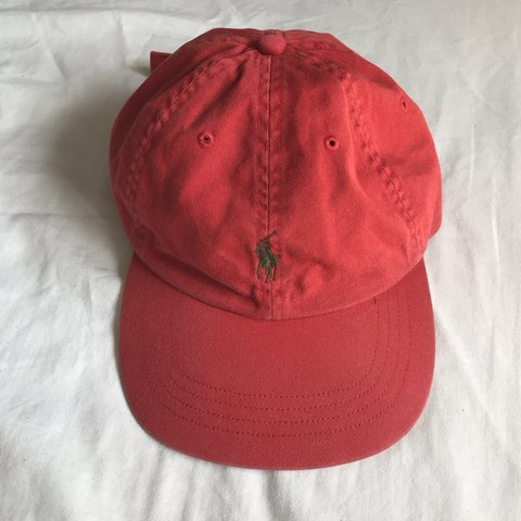 066d55ee @chimmp94. 15 days ago. Sheffield, United Kingdom. Polo Ralph Lauren Hat Red  With Green Embroidery