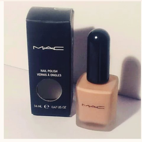 Rare Mac nail polish color \