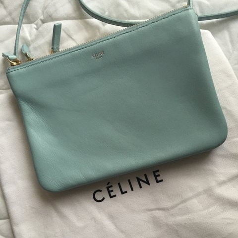 98112f4e6e Brand new gently used Celine trio bag. Very rare color. - Depop