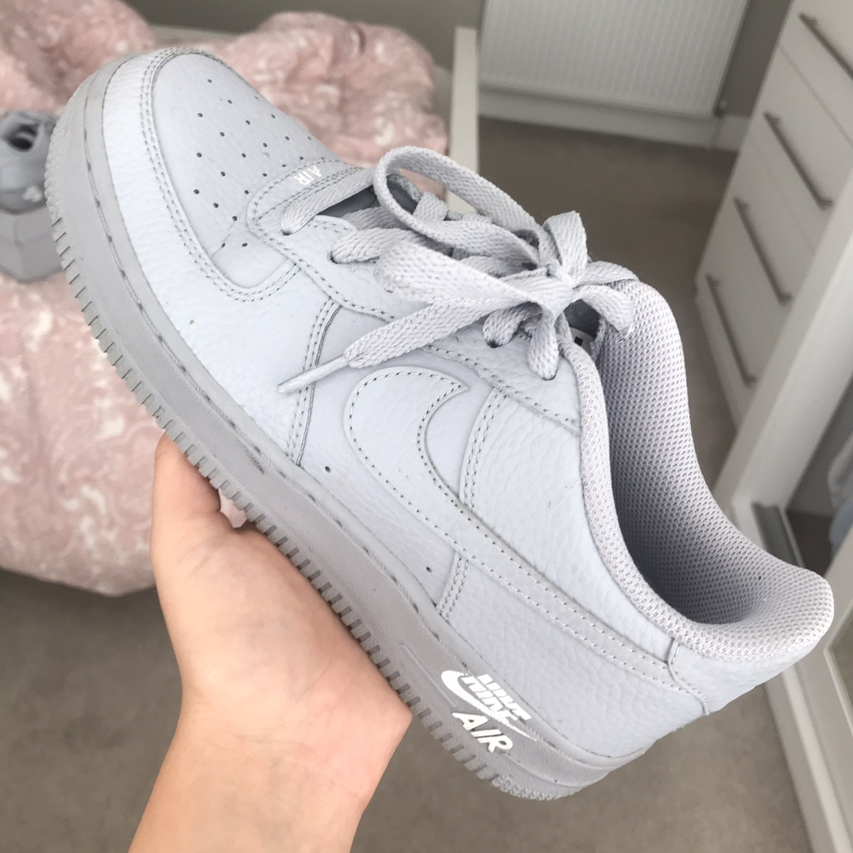 grey air force 1 size 5 Shop Clothing