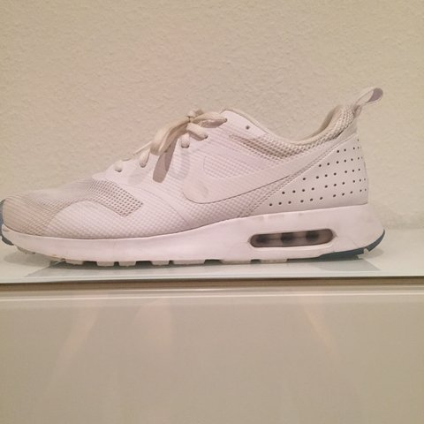 info for a99f9 dc1e6 NEED THESE GONE ASAP!! Nike Air Max Tavas   all white. Had a - Depop