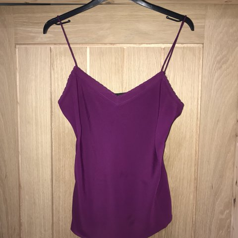 c7e844fee Small purple ted baker vest top. Brand new - never worn. £2 - Depop