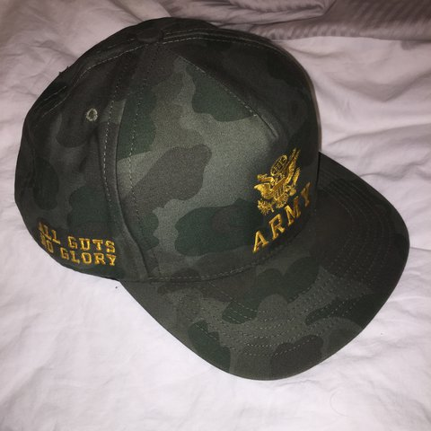 0bb2fded00c89e @seanmurray. 2 years ago. Philadelphia, PA, USA. Supreme Army SnapBack. Good  condition aside from small ...