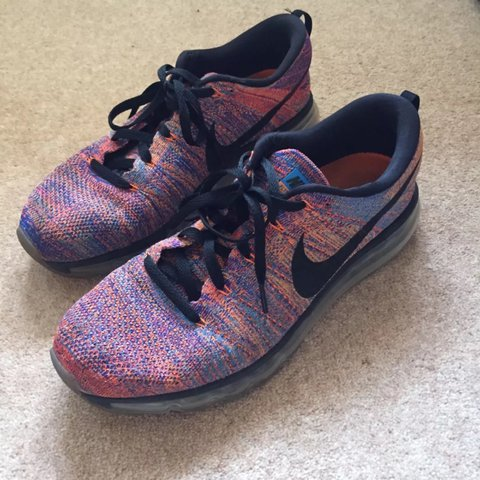 3be8b155a9a602 Excellent condition air max flyknit air multi coloured