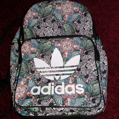 8cf7a08a4f5 Perfect quality adidas jungle animal funky patterned school - Depop