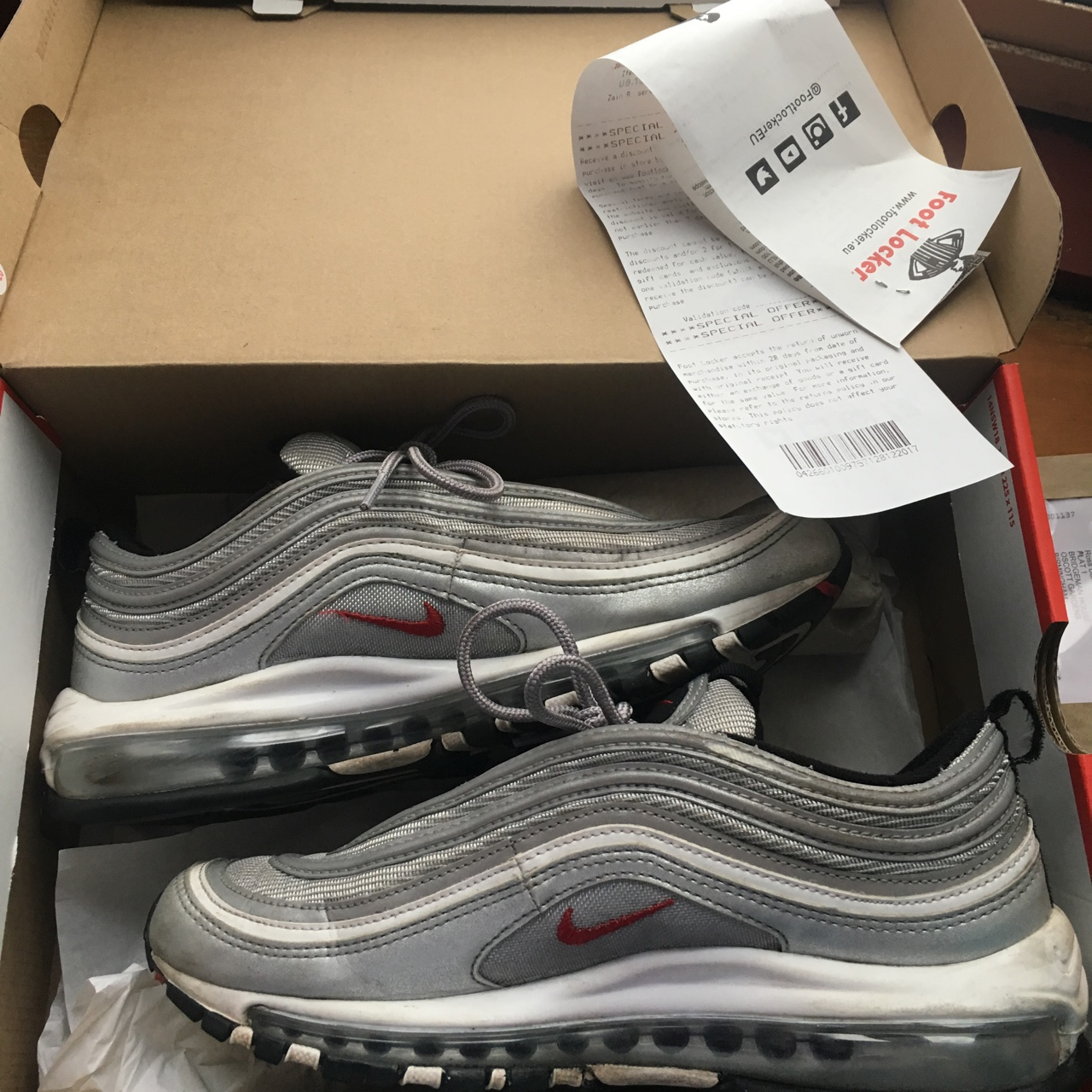 Nike air max 97 Silver bullets Still with Depop