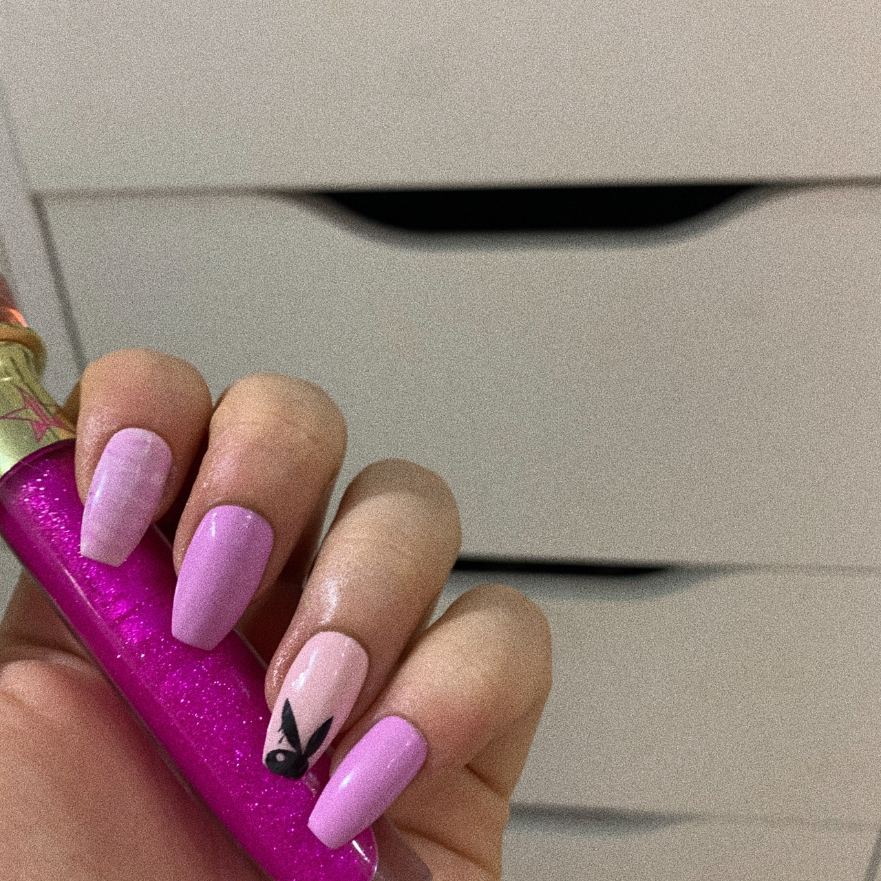 Playboy Stick On Nails 10 Nails In This Design Depop