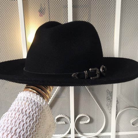 3a1705252b66c Black fedora hat From Forever21 New