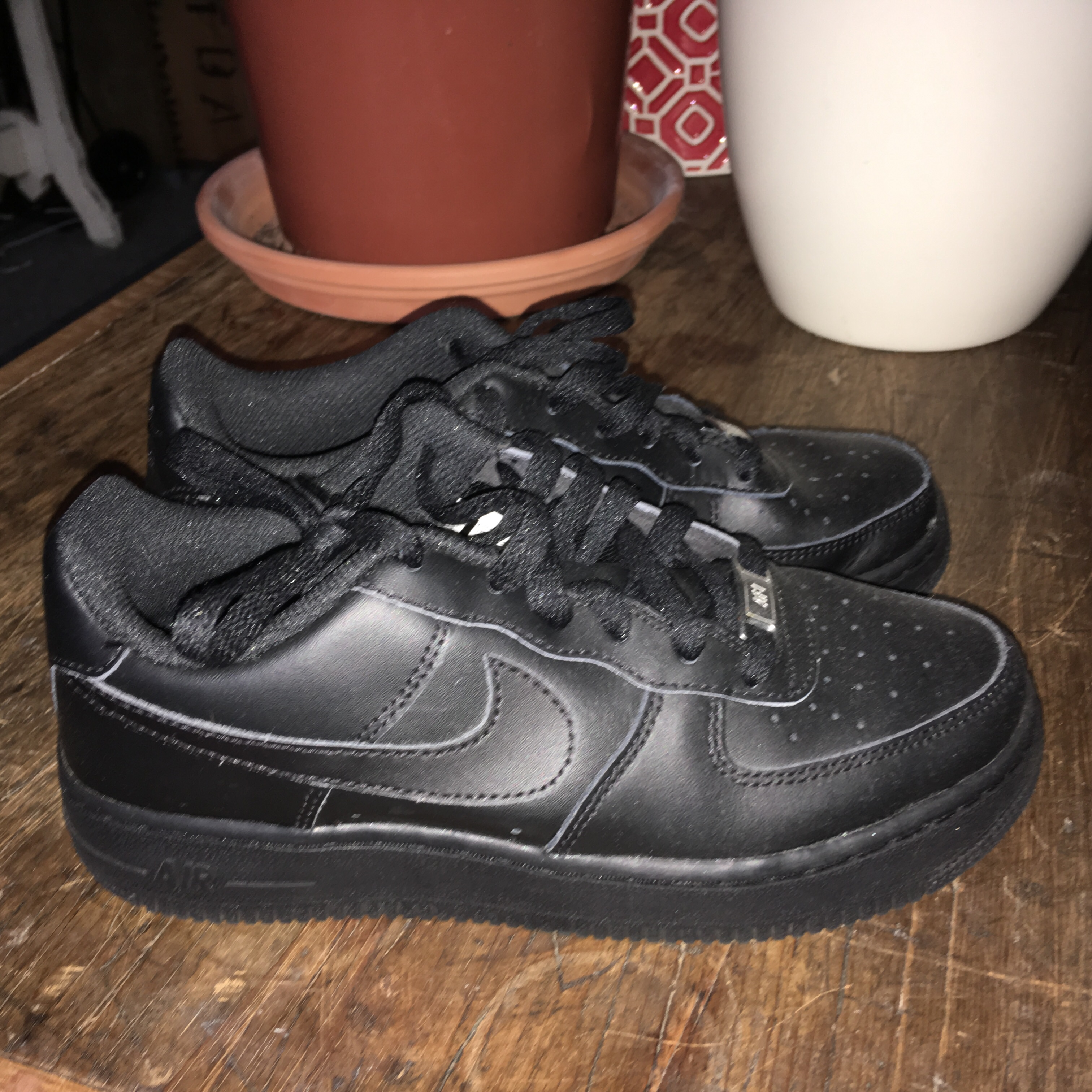 black air force 1 size 4 Shop Clothing