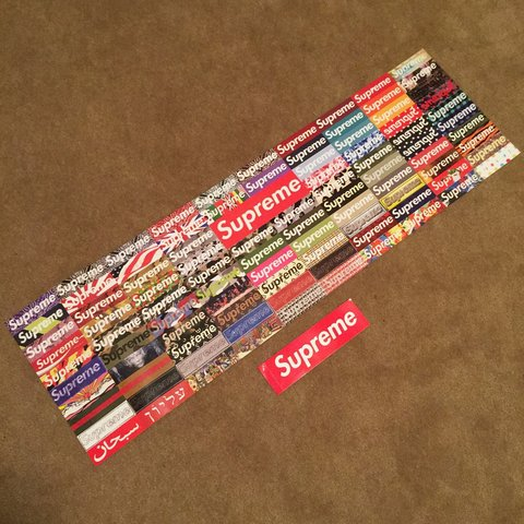 Glombz 3 Years Ago Los Angeles Ca Usa Supreme Box Logo Poster