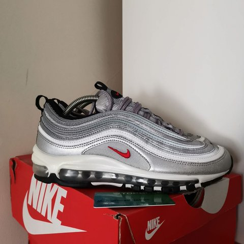 69021dc734 @underthebedsneakers. 3 days ago. London, GB. Nike Air Max 97 OG Silver  Bullet UK6 ...