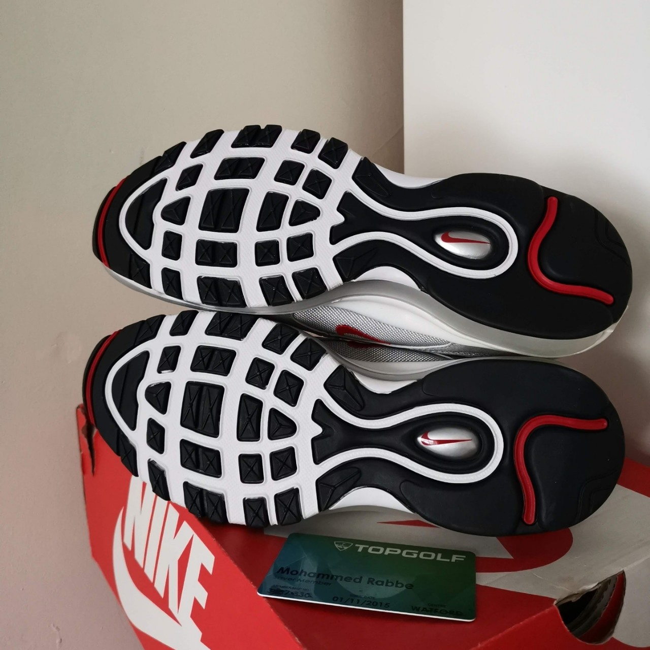 Nike Air Max 97 OG Silver Bullet UK6 US7 Depop