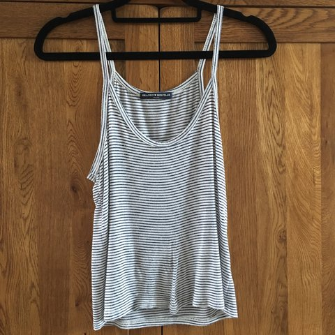 291c63ea054 Brandy Melville striped strappy vest