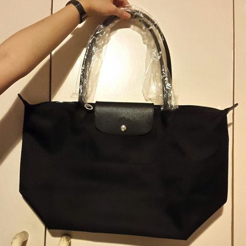 separation shoes f4a4b 62506  kakaypang. 3 years ago. London, UK. longchamp le pliage neo shoulder ...