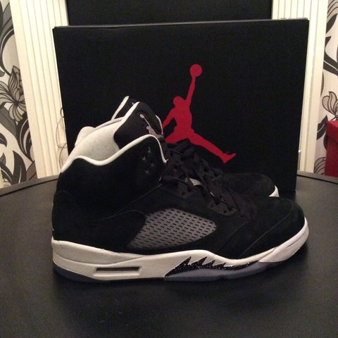 219b7df6a501 Jordan Retro 5 Oreo only worn a handful of times  jordan  5 - Depop