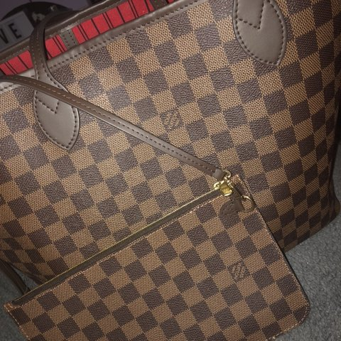 a70004bb5b20 100% real Louis Vuitton bag. red on the inside nothing with - Depop