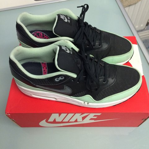 f97d548d5055c Nike air max 1 Yeezy pack size UK 10 very rare and Condition - Depop