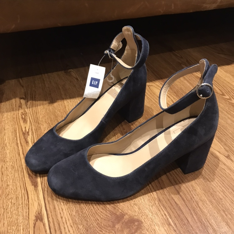 navy ankle strap shoes uk