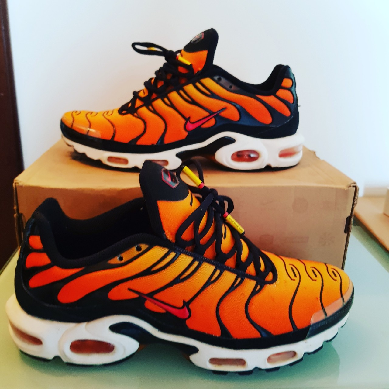 promo code 37dca dc140 Nike air max plus tn Tiger 2013 10us 9uk 44eu 8.5/10... - Depop