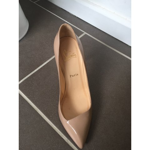 80149b7ea943 Nude Christian Louboutins. Only worn a handful of times