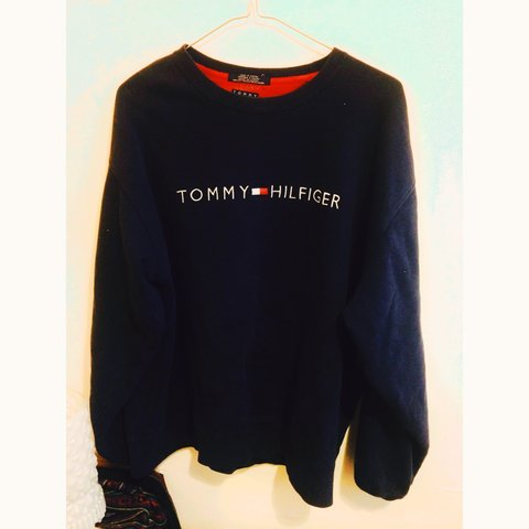 ed4b6b63 @ellienewbold. 4 years ago. Leeds, West Yorkshire, UK. Vintage Tommy  Hilfiger sweatshirt.