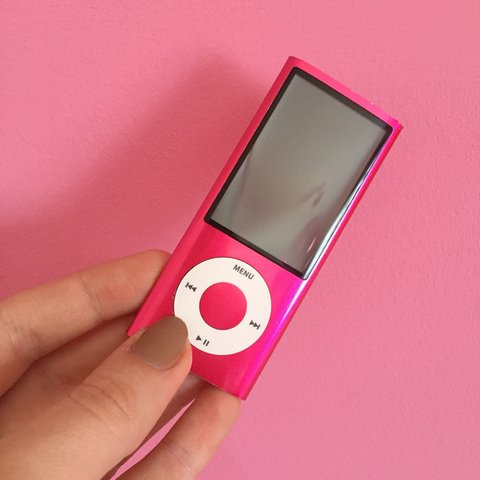 Pink Apple Ipod Nano 5th Gen 16gb There Are A Few On Depop