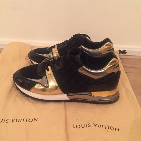 3c1318dd1a77 PRICE DROP Louis Vuitton runaway sneakers. Size 36. In some - Depop