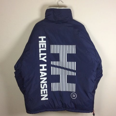 9955684bb19 🔥🔥Vintage 90 s reversible Helly Hansen down feather jacket - Depop