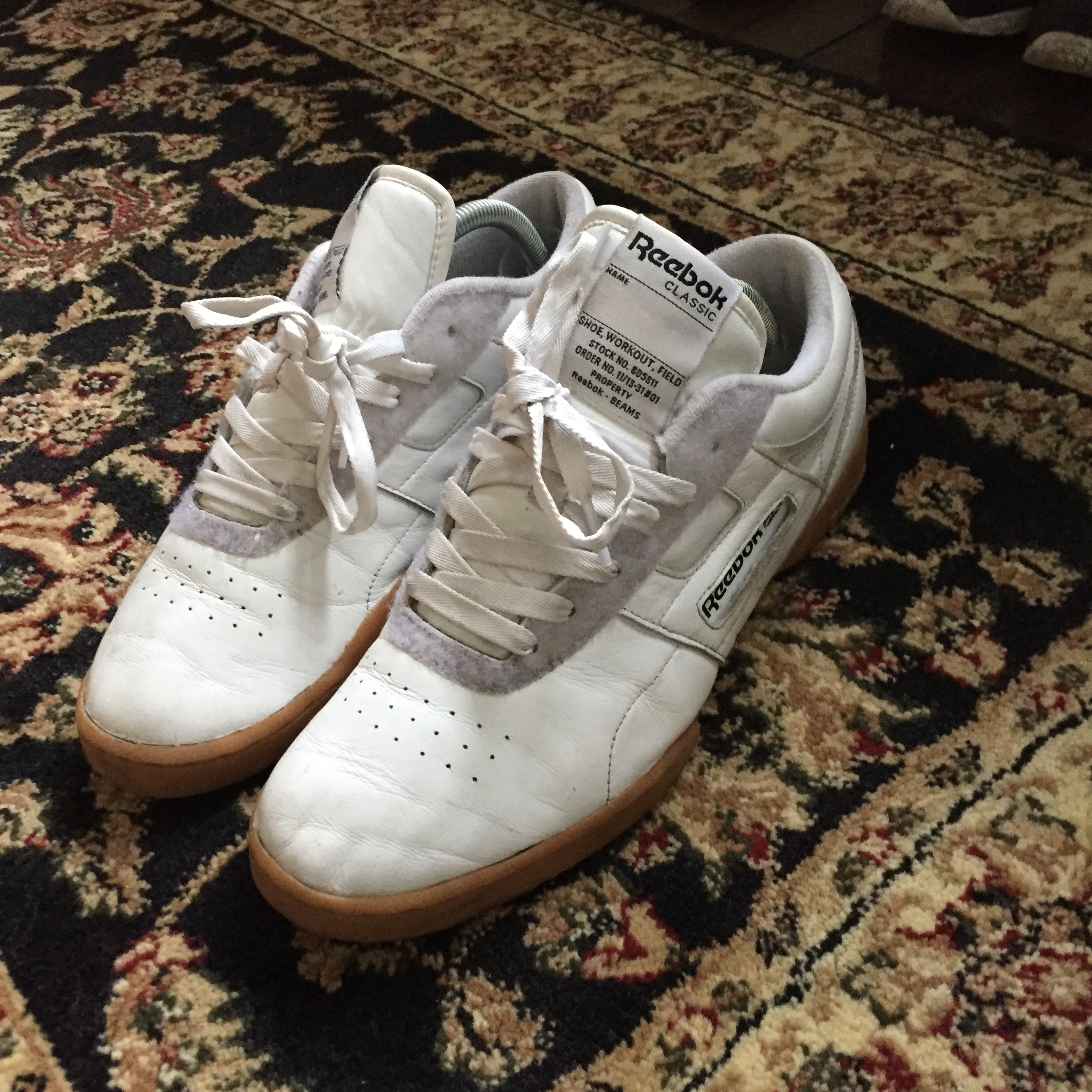 superior quality 4c420 c9ad7 Reebok Classic x Beams Workout UK8 7/10 £45 posted - Depop