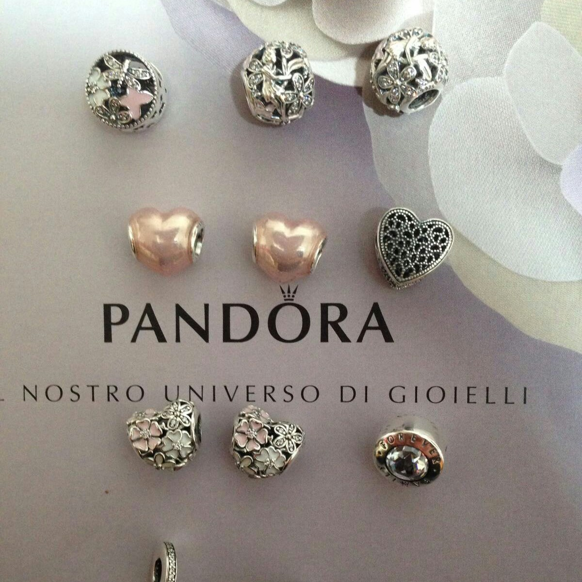 pandora charms originali family