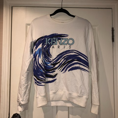 KENZO JUMPER AGE 16 FITS LIKE WOMENS S M PERFECT CONDITION - Depop 622002c10
