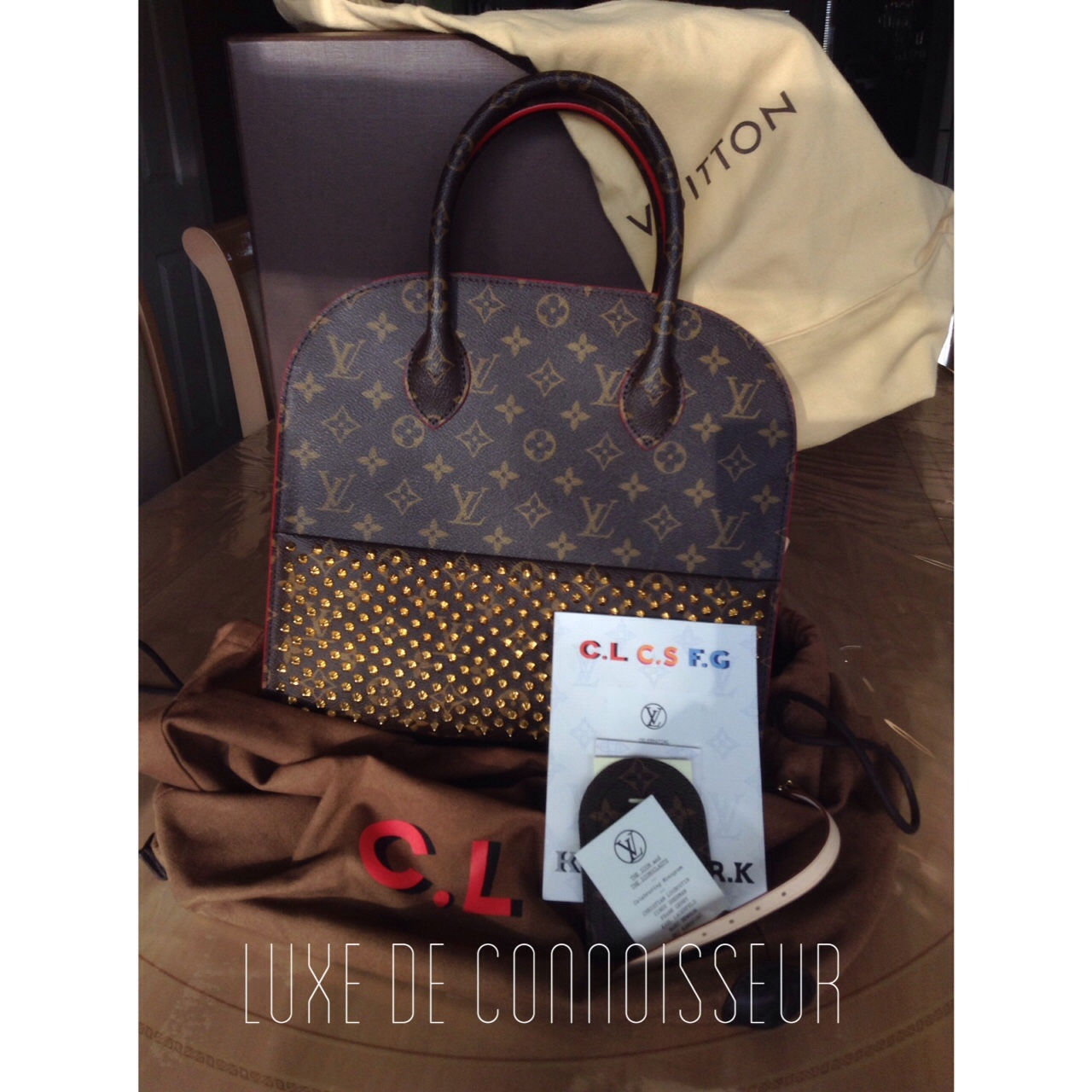 Up For Grabs We Have This Exclusive Louis Vuitton X Depop