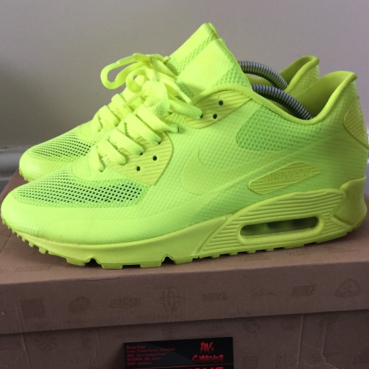 ea5ff5312be7d Uk8 Nike Depop Max 510 8 ConditionTags Air 90 Hyperfuse  volt  wOmNv8n0