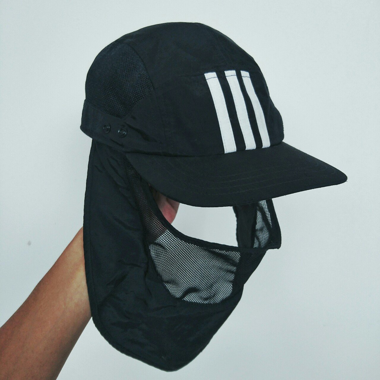 Adidas Palace Cap with removable face mask Best release of - Depop 5ac6d3956054