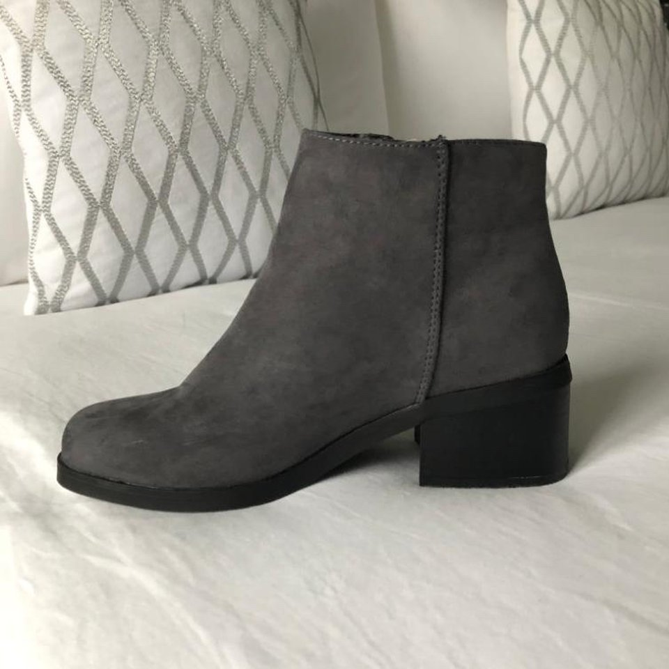 Kids girls grey boots - New Look Size 3