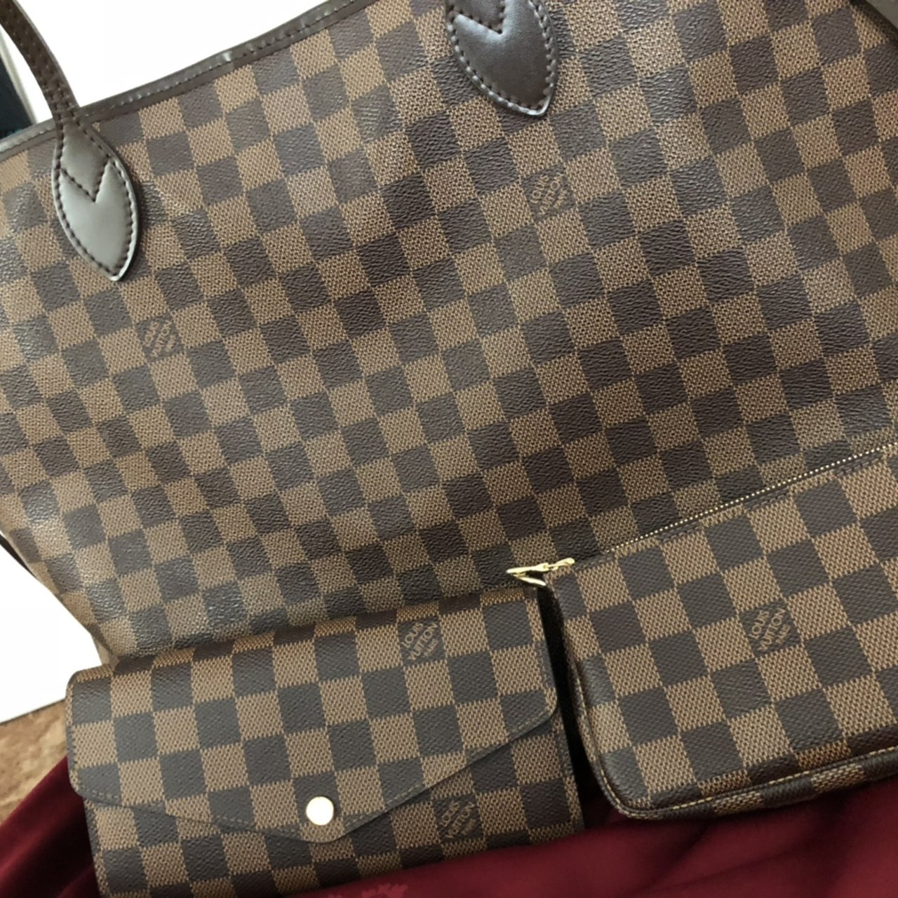 NOT SELLING! Looking for a Louis Vuitton Damier Ebene MM a - Depop 53b9bfe861a69