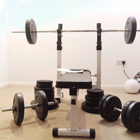 Home gym for sale save money buying this home gym of a depop