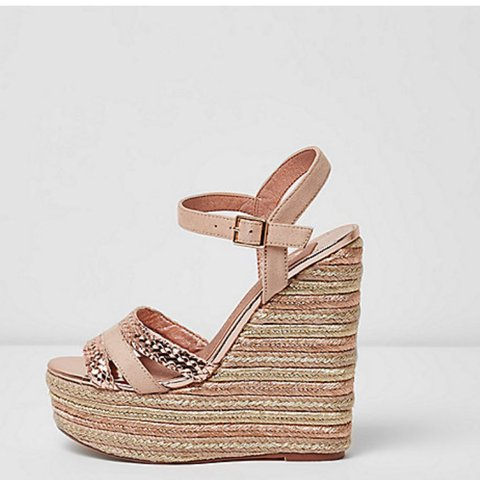 For Gold Sandals Island Depop Espadrille Wedge Rose Bought River 5 tsxBQrhdCo