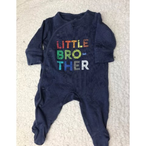8910a0be1 @rhiannonbourne. last year. Derby, United Kingdom. Next little brother  Sleepsuit first size. Open to offers ...