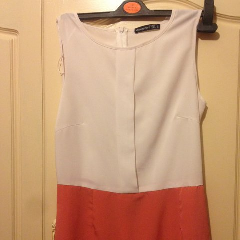 596ccd898d5d  ciara ecm. 4 years ago. Ireland. White and burnt orange dress from penneys  ...