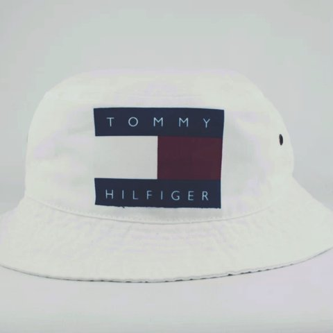 312bfd89 @birchvintage. 4 years ago. Chester, United Kingdom. Vintage Tommy Hilfiger  Bucket Hat 🌞