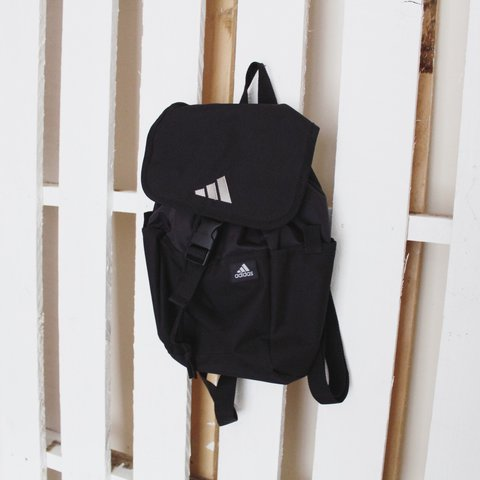 3c88aa0af6 @birchvintage. 2 years ago. United Kingdom. Vintage 90's Adidas Mini  Backpack ~ Black ...