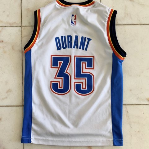 adf01b5d9 Youth boys size small NBA Kevin Durant  35 Oklahoma City in - Depop