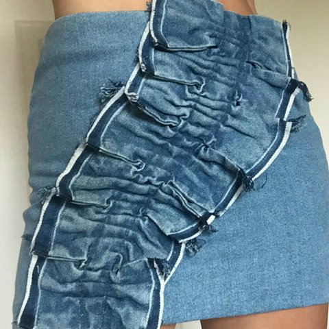 9397873770 @staceycallum. 2 years ago. Prestwich, Manchester, United Kingdom. Zara  frill denim skirt . Sold out everywhere! Size small
