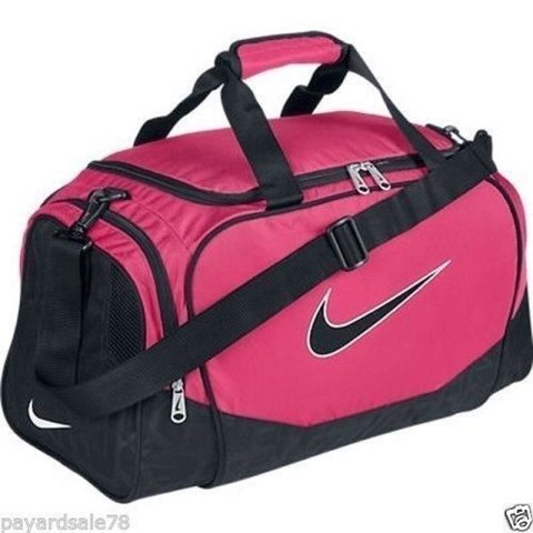 d92c1ea1741919 Nike pink and black gym / sports bag. Have two and dont use - Depop