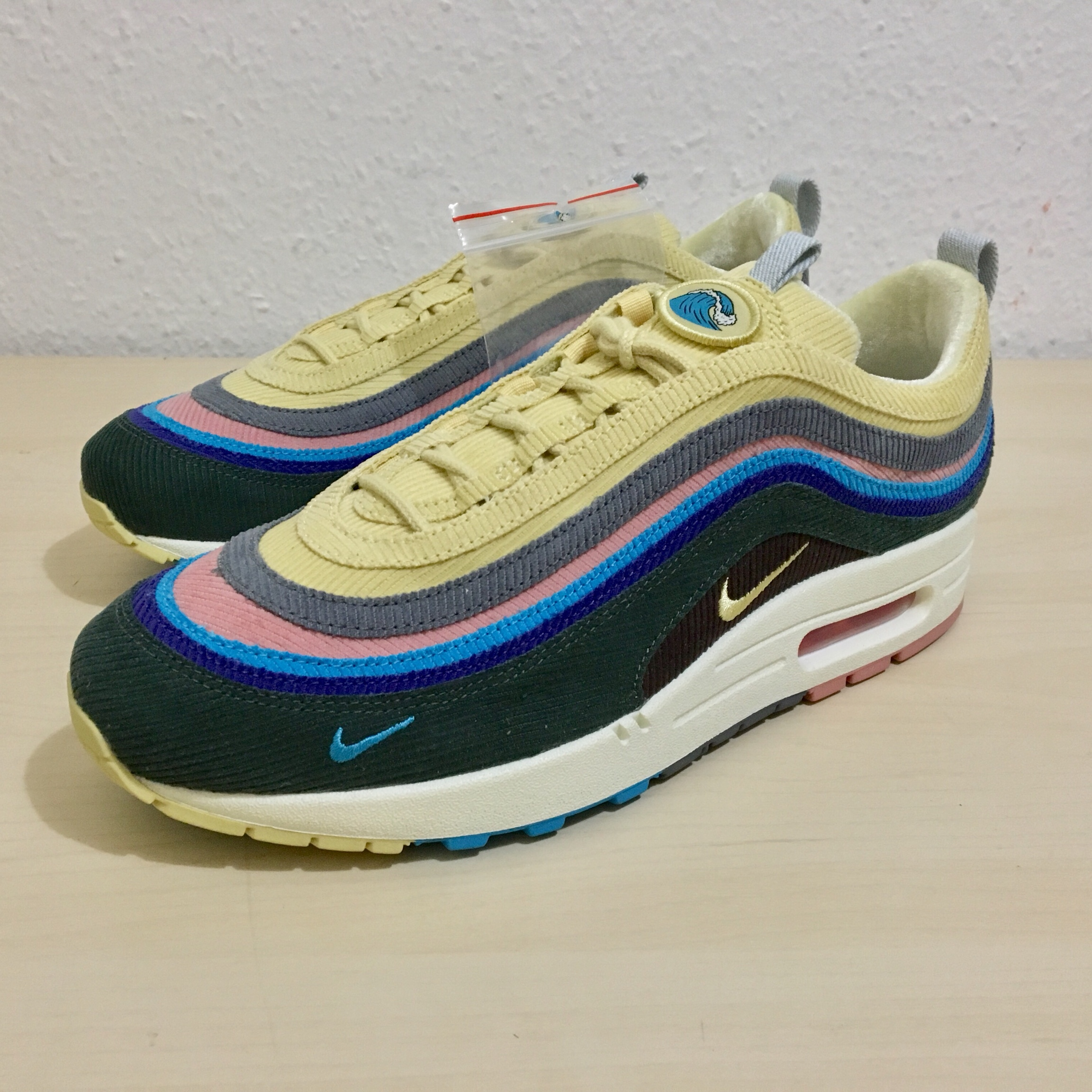 sneakers for cheap c6f42 4f705 Nike Air Max 97/1 Sean Wotherspoon (2018) DS OG... - Depop