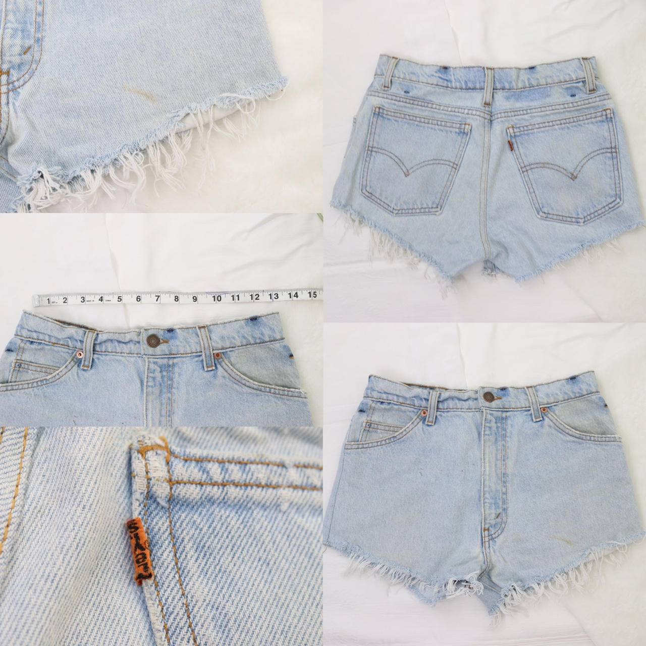 Levi's Vintage High Waisted Reworked Shorts